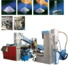 PE film die-face cutting pelletizing line