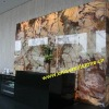 Backlit White Onyx Wall
