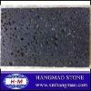 Polished chinese black basalt with hole