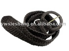braided belt,fashion knitted belt,lady belt