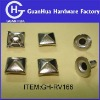 Metal pyramid Rivet Studs Leathercraft