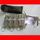 mini Led Multi-fonction pliers screwdriver knife