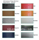 3D carbon fiber vinyl,3D car wrapping film