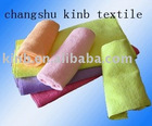 100%polyester microfiber towel