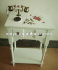 Country style classic wooden telephone table