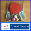 4 Rackets + 4 Balls + Net + Post Table Tennis Full Set