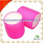 Sleep-In Hot Pink velcro sponge hair roller