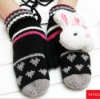 AB Style Rabbit Acrylic Warm Knitted Gloves for Winter