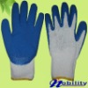 White Cotton Lined Latex Coated Industrial Safety Glove Made In China