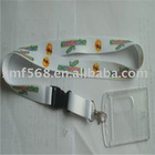 heat transfer print lanyards for card holder