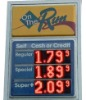 LED Gas Price Charge Display screen