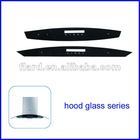 toughened tempered kitchen hood glass/extractor hood glass