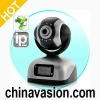IP Security Camera with CF Card Slot and LCD Display
