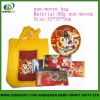colourful printed non -woven bags