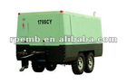 Diesel engine drive movable screw compressor for sale 179SCY