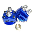 Auto dual blue oil cooler fittings