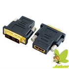 High Quality hotsale HDMI to DVI audio adapter female to male