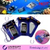 Suitable for iphone PVC waterproof pouch for swimming