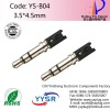 YS-B04 3.5mm male plug cable