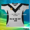 professional sublimated rugby wear with polyester