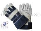 Safety leather gloves(HL88PA)