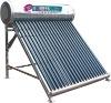 Unique shape solar water heater