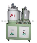 three color three density pu shoe making(sole) pouring machine.( JG-805)