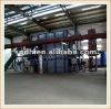 continuous rotary drying equipment with waste plastic pyrolysis machine
