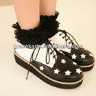 Korean Girls Causal Platform Shoes SH52