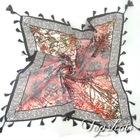 square tassel scarves