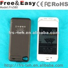 2200mAh Slim External mobile phone Battery Case Cover Power charger for iPhone4 and 4S power pack