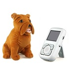 Wireless Baby Monitor - 2.4GHz - Dog-shaped Camera - 2.5-inch LCD Screen