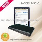 "5"" tablet pc with Android 2.1, WiFi, capacitive touch screen,"