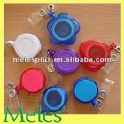 decorative plastic retractable badge reel