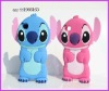 animals design silicone case for iphone 4g making up the stitch