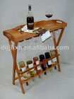 wine holder Includes Serving Tray Top.