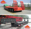 60 tons three-axle Low loader semi-trailer