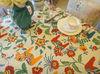 colorful design table cloth