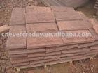 red sandstone wallstone