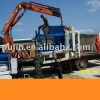 YP8-20 Concrete Block Machine for sale building materials with JS mixer and batching machine