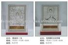 buddha silver crystal decoration
