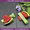 Watermelon Ribbon Sculpture Hair Clip