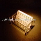 Professional Customized Various Acrylic Name Card Holder FZ-WS-03271