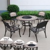 garden fire pit table sets