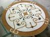 Table art stone mosaic