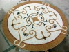 Table art stone mosaic