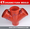 PP-H Collapsible core mould for PPH Double Tee