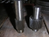 2 stage gear shaft