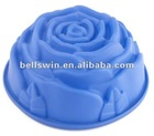 Flower shape FDA Food Grade Silicone Cake Mould Cake Tray