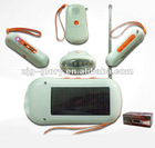 sun power Solar Chargable Radio with torch
